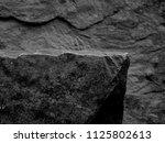 a foreground rock shelf for a... | Shutterstock . vector #1125802613