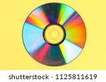 piles of old and dirty cds dvd... | Shutterstock . vector #1125811619