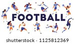 football soccer players...