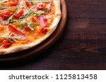 restaurant  food delivery ... | Shutterstock . vector #1125813458