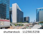 modern city skyline panorama in ... | Shutterstock . vector #1125815258