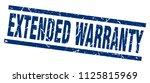 square grunge blue extended... | Shutterstock .eps vector #1125815969