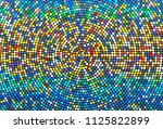 dark background with colorful... | Shutterstock .eps vector #1125822899