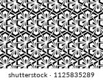 flower geometric pattern.... | Shutterstock .eps vector #1125835289