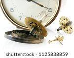 closeup of gears and cogs... | Shutterstock . vector #1125838859