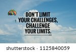 motivational and inspirational... | Shutterstock . vector #1125840059