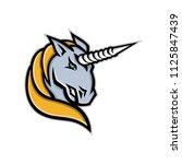 mascot icon illustration of...   Shutterstock .eps vector #1125847439