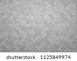 abstract gray square tile...   Shutterstock .eps vector #1125849974