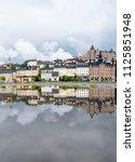 stockholm  sweden  june  2018   ... | Shutterstock . vector #1125851948