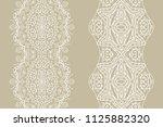 decorative doodle seamless... | Shutterstock .eps vector #1125882320