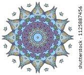 mandala flower decoration  hand ...   Shutterstock .eps vector #1125887456