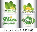 vintage retro bio natural... | Shutterstock .eps vector #112589648