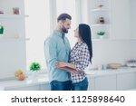 portrait of stylish lovely... | Shutterstock . vector #1125898640