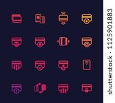 credit cards vector icons set...