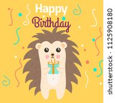 vector cartoon style... | Shutterstock .eps vector #1125908180