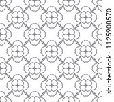 seamless geometric ornamental... | Shutterstock .eps vector #1125908570