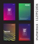 set of vector different style... | Shutterstock .eps vector #1125921836