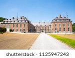 the historic castle of freyr in ... | Shutterstock . vector #1125947243