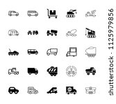 truck icon. collection of 25...   Shutterstock .eps vector #1125979856