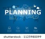 creative infographic of... | Shutterstock .eps vector #1125980099