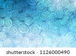 light blue vector abstract... | Shutterstock .eps vector #1126000490