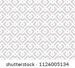 abstract geometric pattern with ... | Shutterstock . vector #1126005134