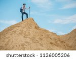 photo of tourist man with... | Shutterstock . vector #1126005206