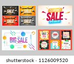 four different style creative...   Shutterstock .eps vector #1126009520