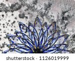 floral ornament beautiful... | Shutterstock . vector #1126019999
