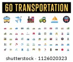 all type of transport ... | Shutterstock .eps vector #1126020323