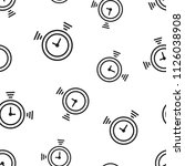 clock timer icon seamless... | Shutterstock .eps vector #1126038908