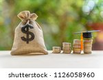 education expense or student... | Shutterstock . vector #1126058960