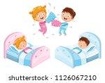 vector illustration of children ... | Shutterstock .eps vector #1126067210
