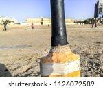 Closeup Of A Cricket Bat And...