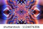 Color Abstract Phantom Image....