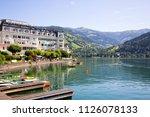 zel am see   austria   june... | Shutterstock . vector #1126078133