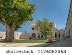 courtyard in maskovica han  an... | Shutterstock . vector #1126082363