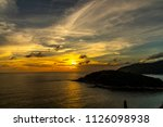 sunset at the sea | Shutterstock . vector #1126098938