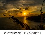 sunset at the sea | Shutterstock . vector #1126098944