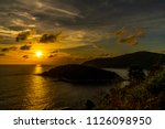 sunset at the sea | Shutterstock . vector #1126098950
