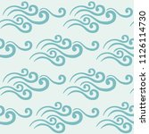 the pattern is gentle  elegant  ... | Shutterstock .eps vector #1126114730
