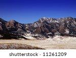 boulder colorado's  flatiron...   Shutterstock . vector #11261209