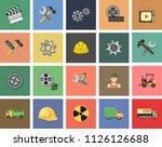 vector industrial icons set....   Shutterstock .eps vector #1126126688