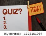 word writing text quiz question.... | Shutterstock . vector #1126161089