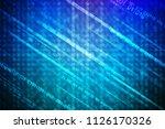 digital abstract background   Shutterstock . vector #1126170326