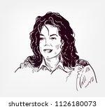 michael jackson vector sketch...