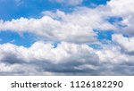 sky and clouds before the storm | Shutterstock . vector #1126182290