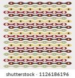 retro circles texture | Shutterstock .eps vector #1126186196