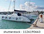 italy  sicily  mediterranean... | Shutterstock . vector #1126190663