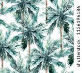 watercolor seamless pattern.... | Shutterstock . vector #1126196186